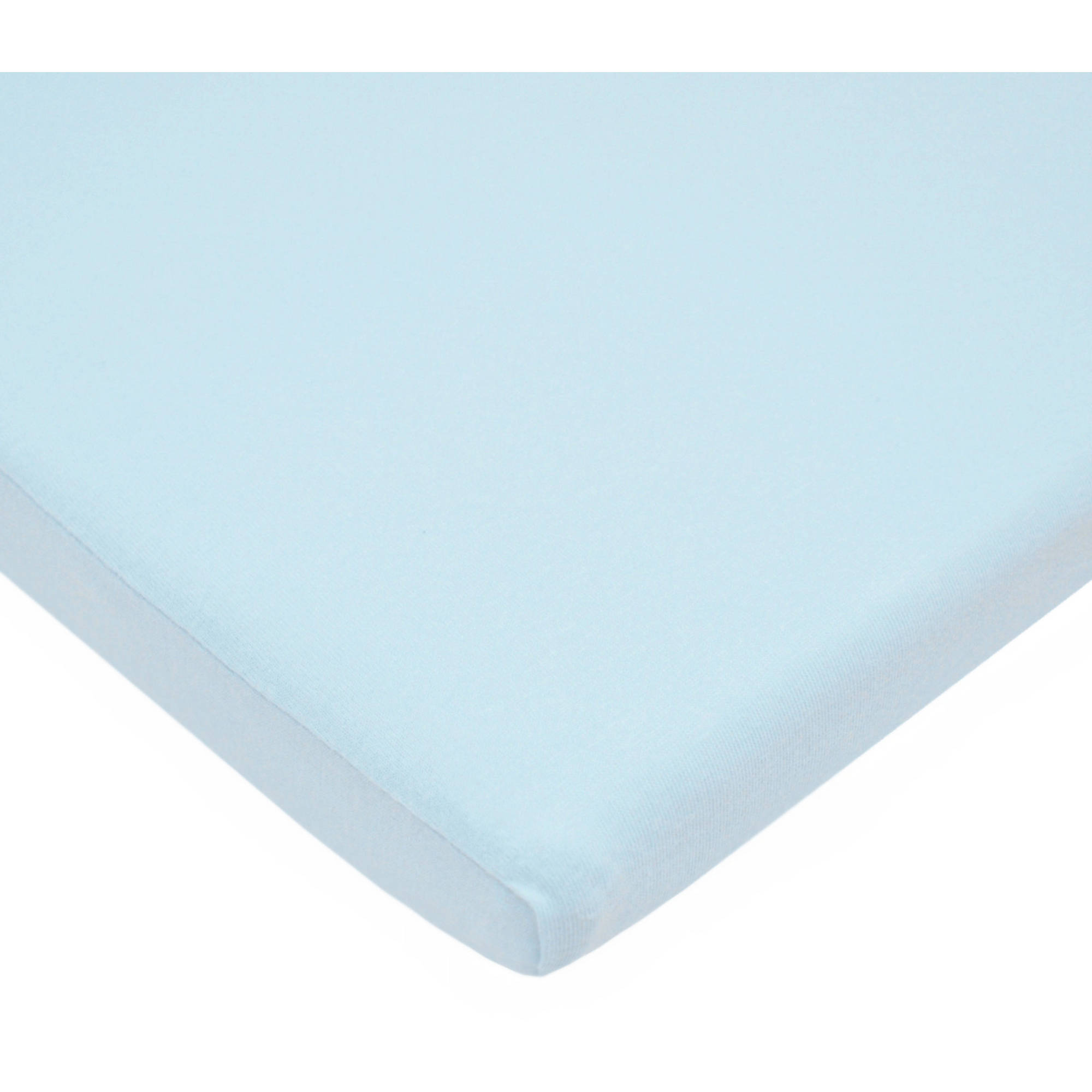 American Baby Company Supreme Jersey Bassinet Sheet - Blue