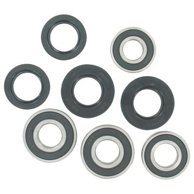 Pivot Works Front Wheel Bearing Kit for Polaris RANGER RZR 170 2009-2018 (170 Polaris Graphic Kits)