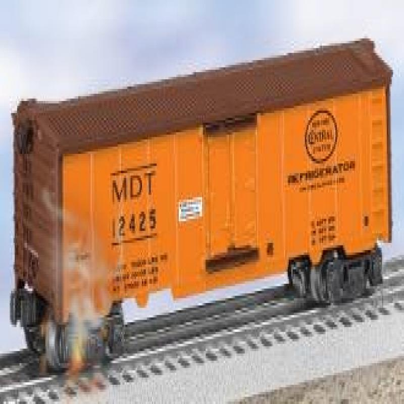 Lionel 6-29811 MDT Hot Box Refrigerator Car