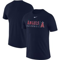 Los Angeles Angels Nike MLB Practice T-Shirt - Navy