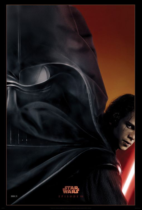 Star Wars Episode Iii Revenge Of The Sith Framed Movie Poster Print Teaser Advance Size 27 X 40 Walmart Com Walmart Com