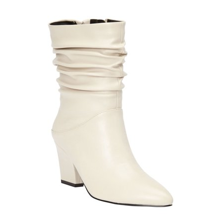 7a973ce34466 Roamans - The Willa Wide Calf Bootie By Comfortview - Walmart.com