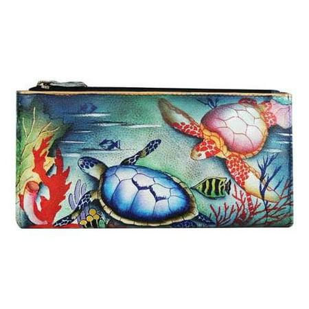 - Anuschka Women's Two Fold Wallet