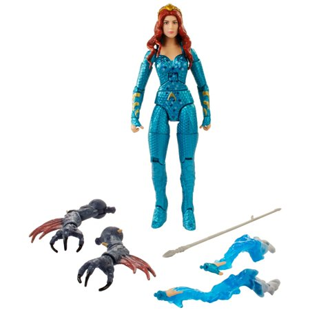Aquaman Movie DC Multiverse Mera 6-Inch Action Figure with Battle Suit