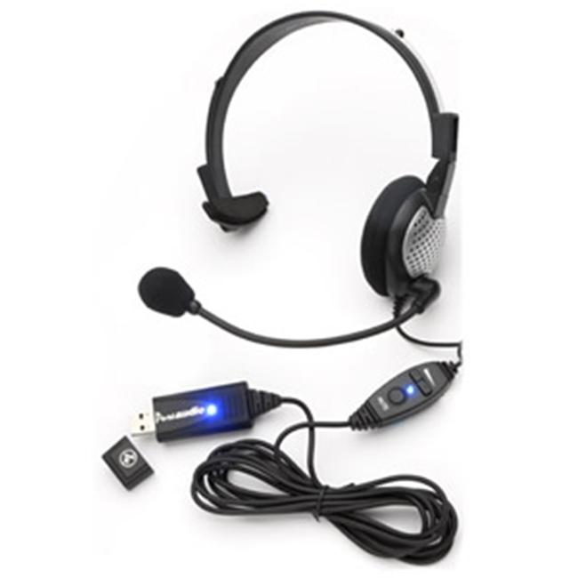 Andrea Headsets AND-NC181VMUSB USB High Quality Digital Monural Headset
