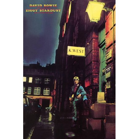 David Bowie - Ziggy Stardust Poster - 24x36