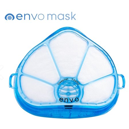 Maximum Seal (Envo Dust Mask TWIN PACK (2 Masks/20 Extra Filters). 100% Seal Dust Mask. Professional Grade with Maximum Protection and No Foggy Safety Glasses.)