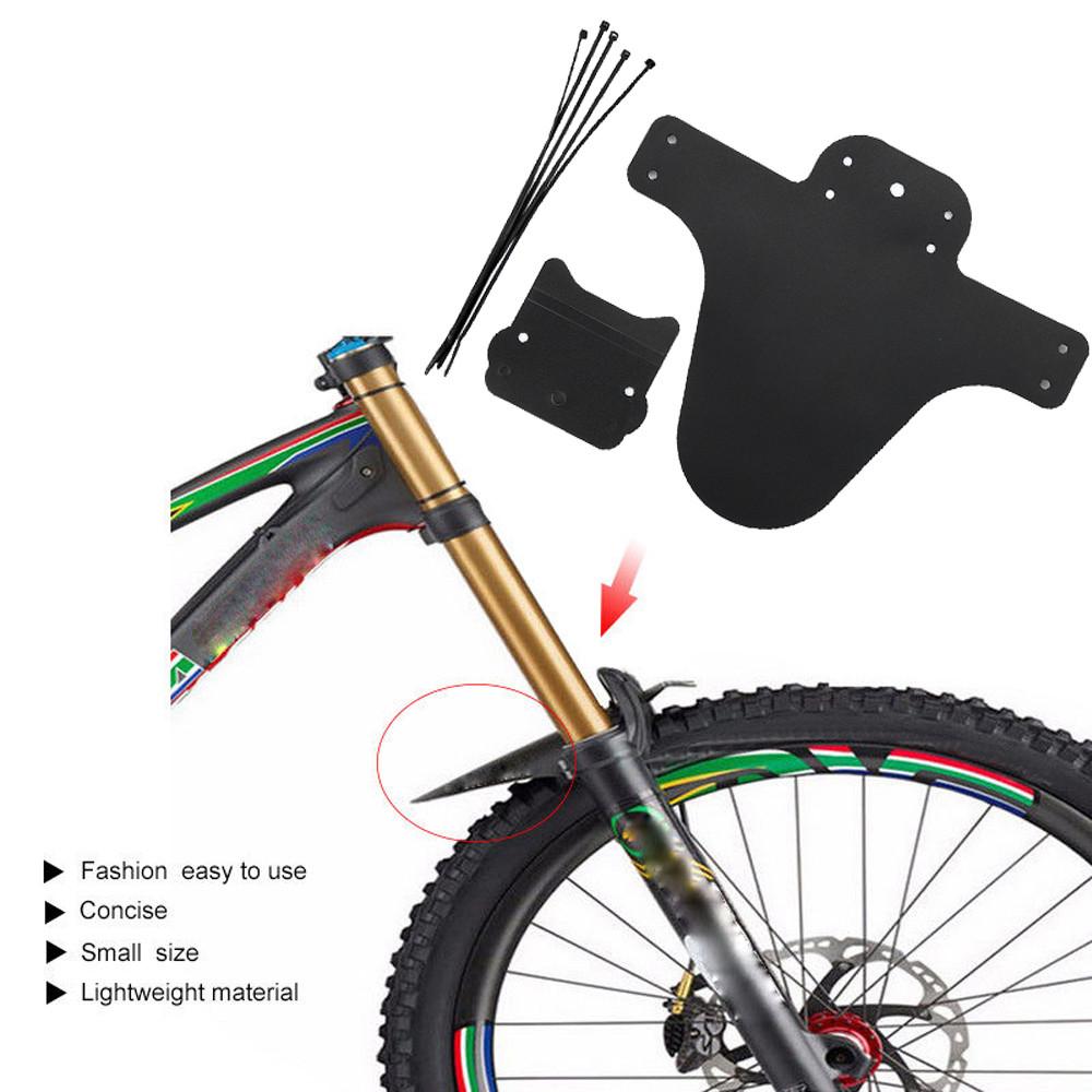 1Pair Bicycle Lightest MTB Mud Guards Tire Tyre Mudguard For Bike Fenders