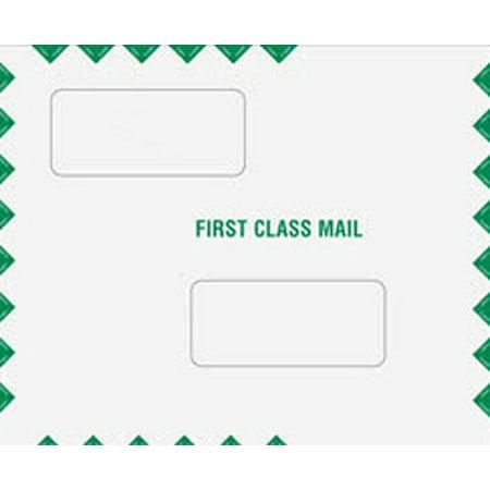 Double Window Tax Return Filing Envelope  Peel And Seal