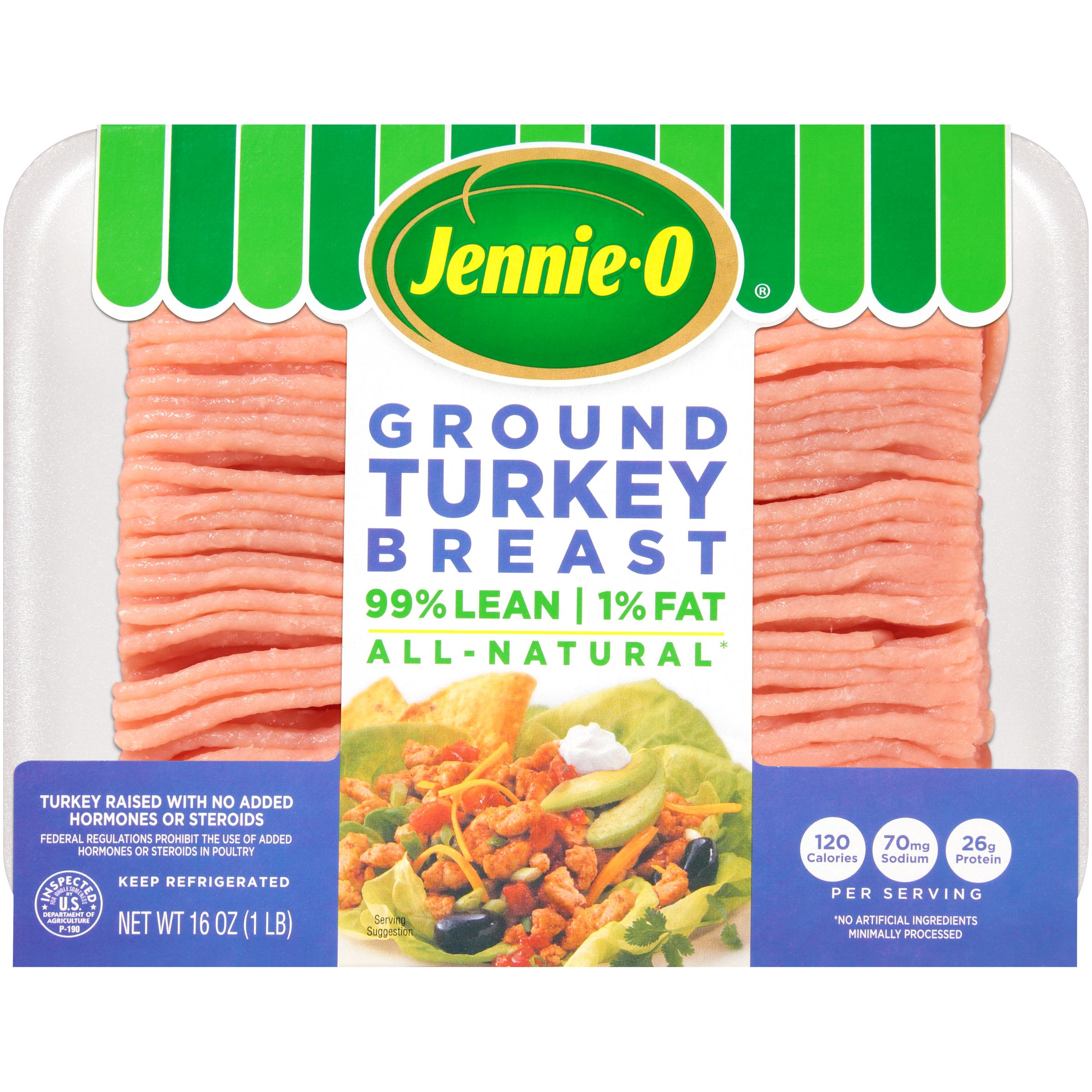 Jennie-O <mark>Fresh</mark> Ground <mark>Turkey</mark> Extra Lean, 1 lb.