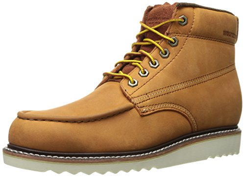 "Wolverine 1883 by Men's Ranger 6"" Moc Toe Winter Boot, Amber Nubuck, 9 M US by 1883 by Wolverine"