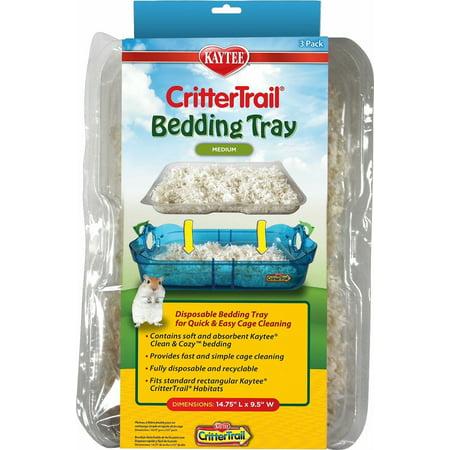 Kaytee CritterTrail Habitat Disposable Bedding Tray 18ct (6 x - Beading Tray