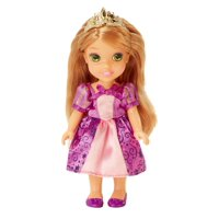 """Disney Princess 6"""" Petite Rapunzel Doll with Glittered Hard Bodice and includes comb"""