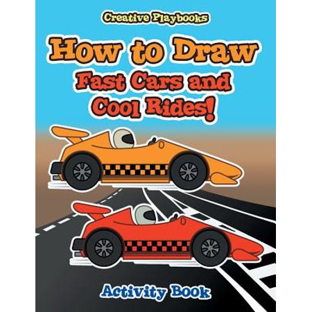 How to Draw Fast Cars and Cool Rides! Activity - Cool Halloween Art Activities