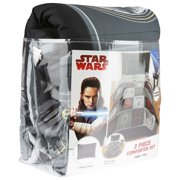 Star Wars Episode 8 'The Last Jedi' Twin or Full Comforter with Sham Set
