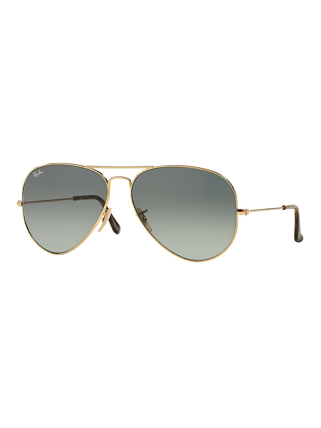 Ray-Ban RB3025 Classic Aviator Sunglasses, 58MM, Gradient Lens