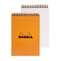 Notebooks: Rhodia A5 Wirebound Pad