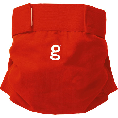 gDiapers - Little gPant, Grateful Red, (sizes S, M, L)