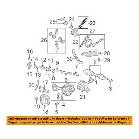 CHRYSLER OEM Front Axle Carrier-Gear Assembly Bolt Assembly