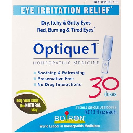Optique 1, 30 Doses, Homeopathic Medicine for Eye ...