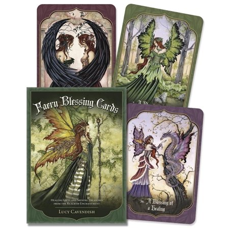 Faery Blessing Cards: Healing Gifts and Shining Treasures from the Realm of Enchantment (Treasure Gift)