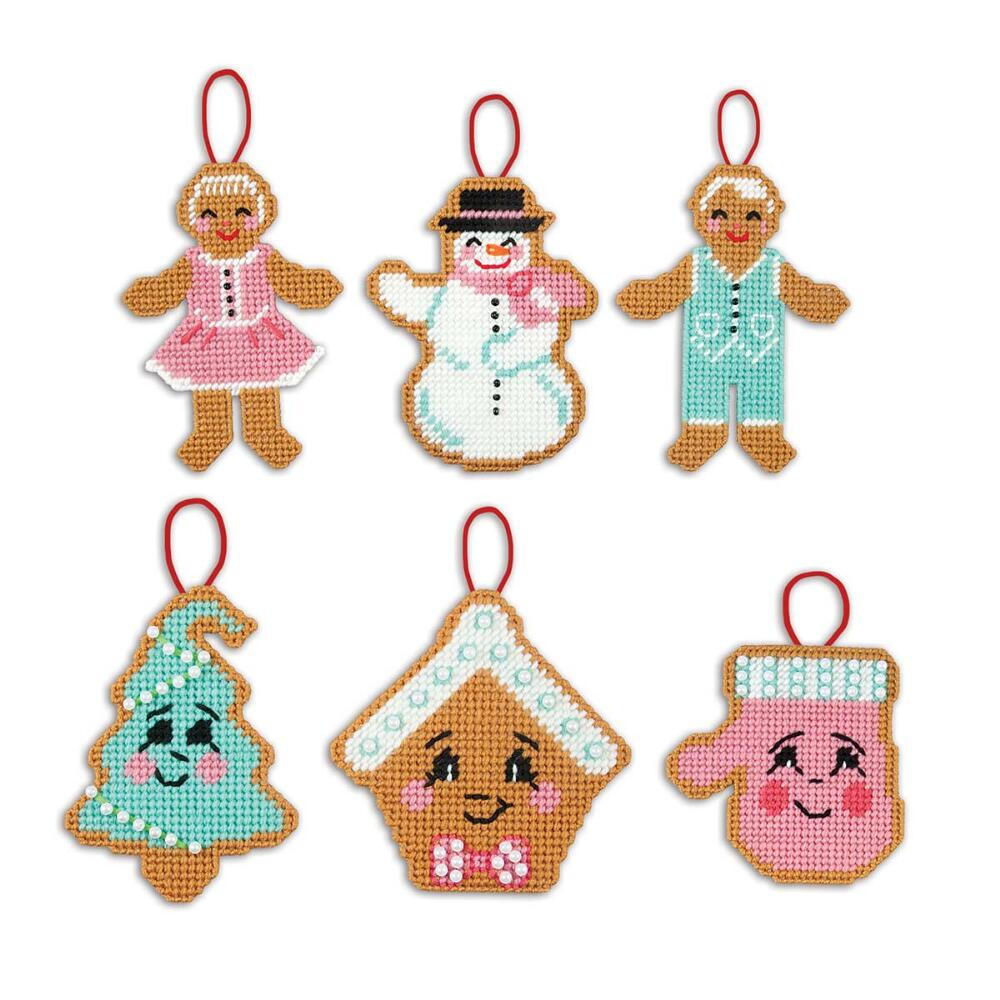 Herrschners® Christmas Cutouts Ornaments Plastic Canvas Kit