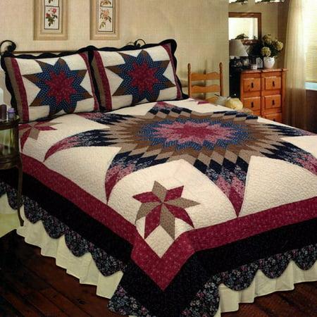 Milliken Peridot Prairie Star (Elegant Decor Prairie Star)