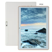 KT107 Plastic Tablet 10.1 Inch Android 8.10 Version Tablet 8G+64G White Tablet