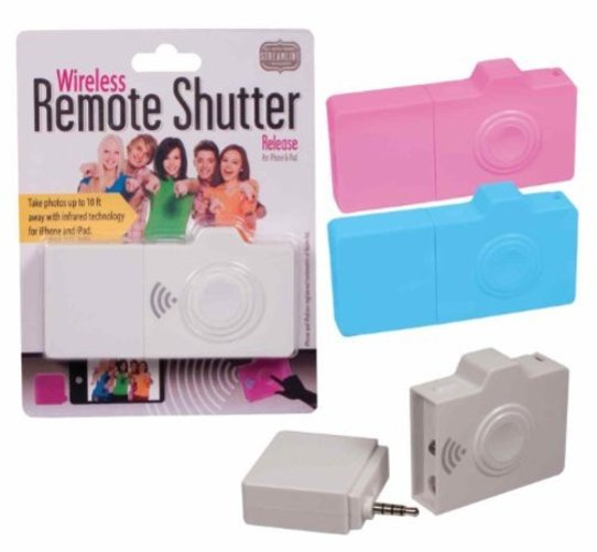 Wireless Remote Shutter for iPhone & iPad, Assorted