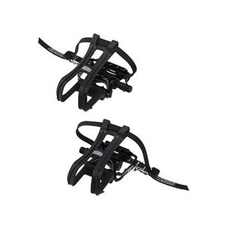DMN Combo Compe Pedal/Toe clip Set 9/16
