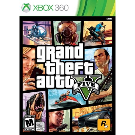 Grand Theft Auto V, Rockstar Games Xbox 360 GTA V By Rockstar