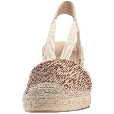 5047717db82 Anne Klein Women s Abbey Fabric Espadrille Wedge Sandal - image 1 ...