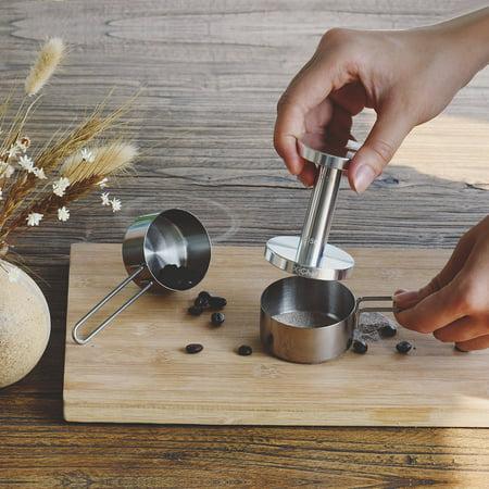 Stainless Steel Espresso Coffee Tamper, Tamper for Espresso 51/ 58mm Coffee Tamper Coffee Bean Press (Stainless Steel Tampa)