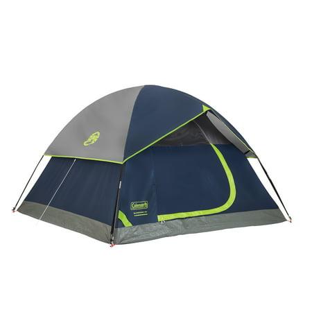 Coleman Sundome 4-Person Tent, Navy