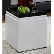 Upholstered Milano Storage Cube & Ottoman