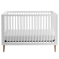 Kolcraft Roscoe 3-in-1 Convertible Crib, Built-In-Hardware, Easy Assembly, Hand-Crafted, Gender Neutral