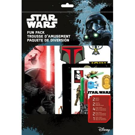 - Fun Packs Stickers - Star Wars Saga - w/Pens Games Toys Set st6927