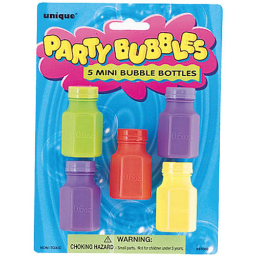 Mini Bubbles Party Favors, 5ct