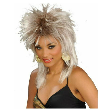 Blonde Unisex Rocker Wig for - Blonde Rocker Wig