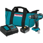 Best compact cordless drill driver - Makita XFD061 18V LXT Lithium-Ion COMPACT Brushless Cordless Review