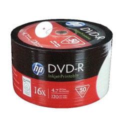 White Inkjet Hub Printable 16X DVD-R (600 pack)