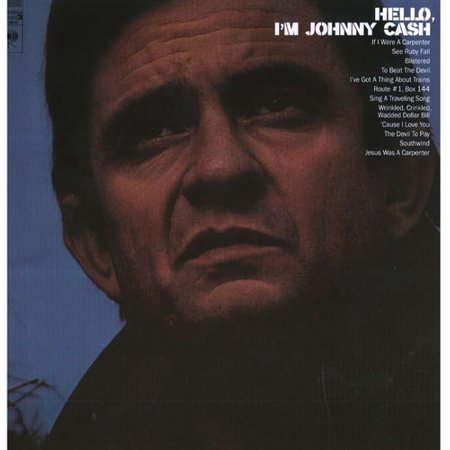 Hello Im Johnny Cash  Vinyl