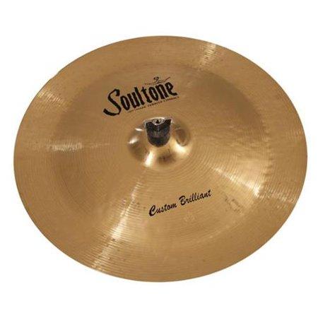 Soultone Cymbals CBR-CHN17 17 in. Brilliant China China Cymbal Brilliant Finish