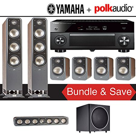 Polk audio signature s60 7 1 ch home theater speaker for Yamaha 7 2 home theatre system