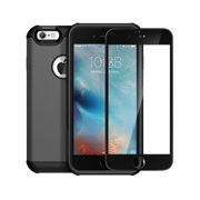 iPhone 6 / 6s Case & Screen Protector Combo, Anker Bumper Case and Tempered Glass Screen Protector for iPhone 6 / 6s , Full Protection (Gunmetal)