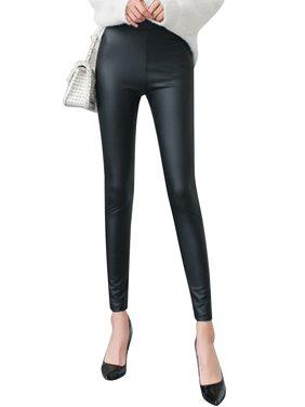7090fb67f4 Product Image LELINTA Fashion Women s Winter Faux Leather Warm Leggings  Stretchy Slim Black Pants Leggings Size S-