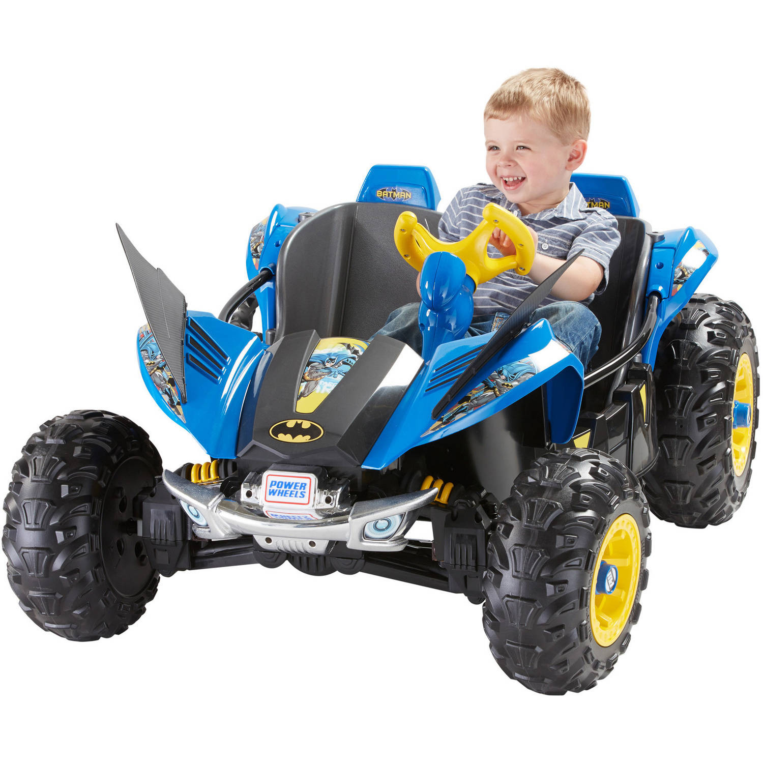 Fisher-Price Power Wheels Batman Dune Racer Battery-Powered Ride-On