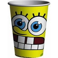 SpongeBob SquarePants 'Moods' 9oz Paper Cups (8ct)