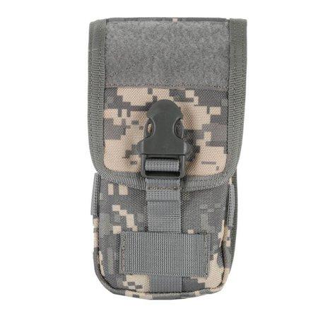 Cell Phone Holster Pouch, Tactical Smartphone Pouches EDC Cellphone Case Gadget Bag Attachment Belt Holder Waist Bag Applicable Most (Pouch Attachment)