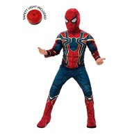 Avengers Endgame Iron Spider Deluxe Costume Kit With Safety Light - Kids M
